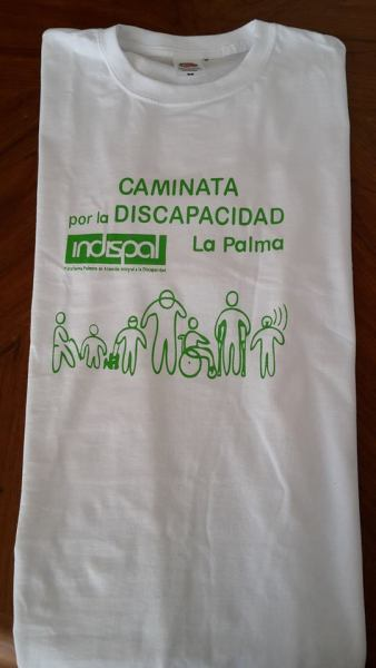 CAMISETA CAMINATA INDISPAL