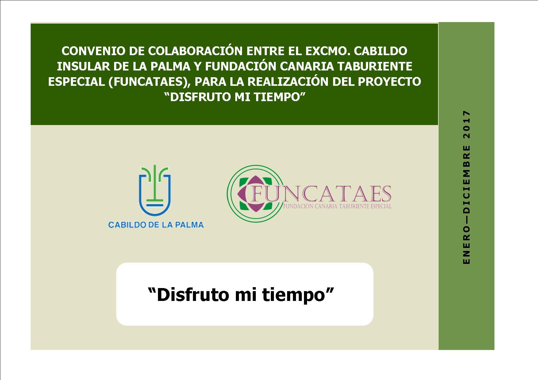 CARTEL CONV COLABORACION CABILDO FUNCATAES 2017