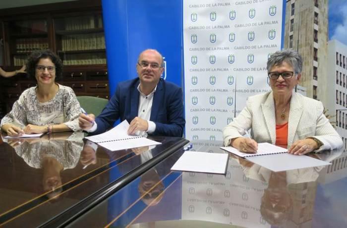 2018 - FIRMA CONVENIO CABILDO FUNCATAES