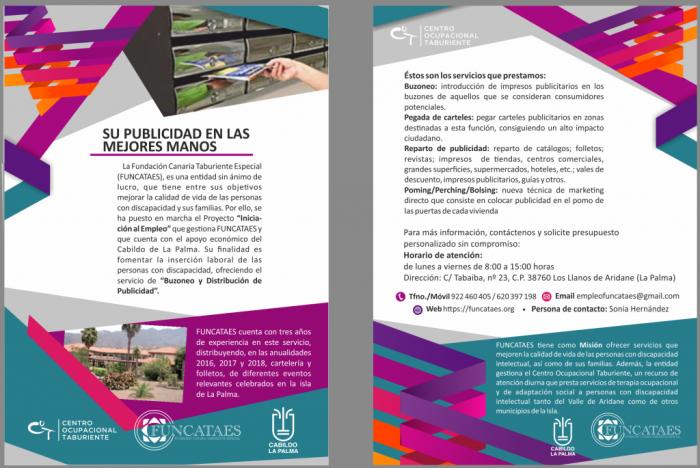 FUNCATAES: SERVICIO BUZONEO Y REPARTO PUBLICIDAD